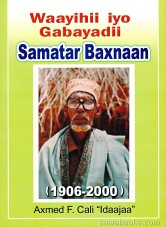 Poems of the past : Samatar Baxnaan (1906-2000)